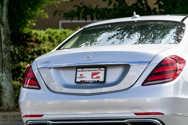 Used 2018 Mercedes-Benz S-Class S 560 for sale $72,489 at Gravity Autos Atlanta in Chamblee GA 30341 55
