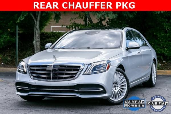 Used Used 2018 Mercedes-Benz S-Class S 560 for sale $72,489 at Gravity Autos Atlanta in Chamblee GA
