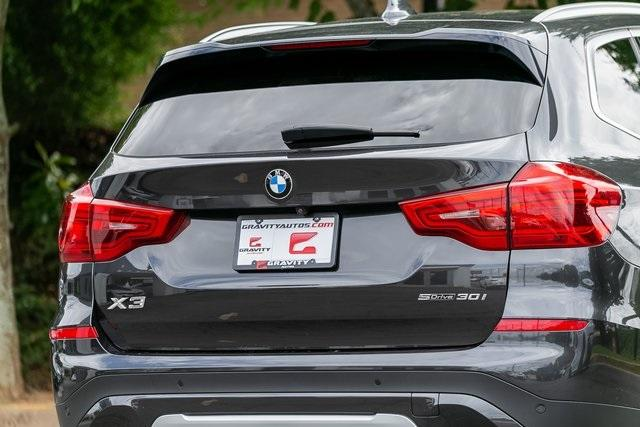 Used 2019 BMW X3 sDrive30i for sale $34,295 at Gravity Autos Atlanta in Chamblee GA 30341 44