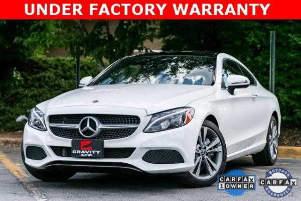 Used Used 2018 Mercedes-Benz C-Class C 300 for sale $35,995 at Gravity Autos Atlanta in Chamblee GA