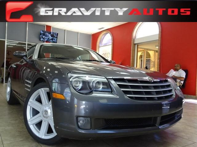 Used 2004 Chrysler Crossfire for sale Sold at Gravity Autos in Roswell GA 30076 1
