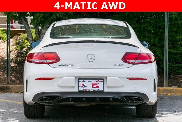 Used 2018 Mercedes-Benz C-Class C 43 AMG for sale Sold at Gravity Autos Atlanta in Chamblee GA 30341 36