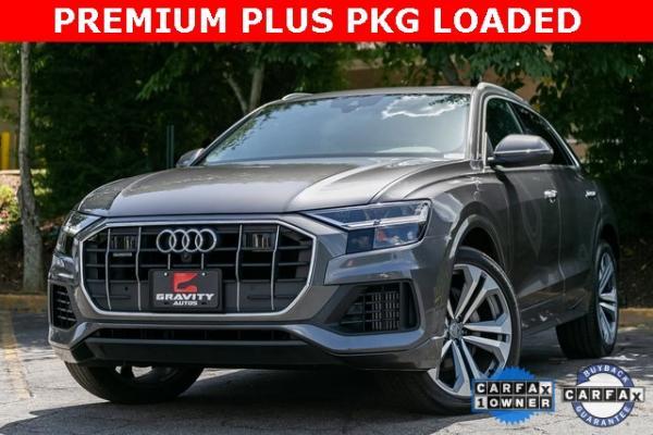 Used Used 2019 Audi Q8 3.0T Premium Plus for sale $67,495 at Gravity Autos Atlanta in Chamblee GA