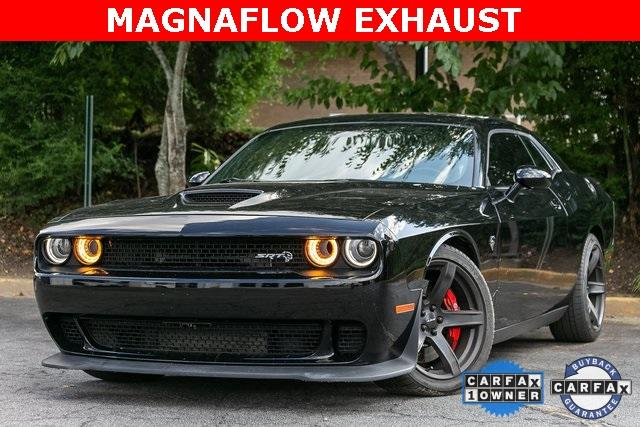 Used 2018 Dodge Challenger SRT Hellcat for sale $59,495 at Gravity Autos Atlanta in Chamblee GA 30341 1