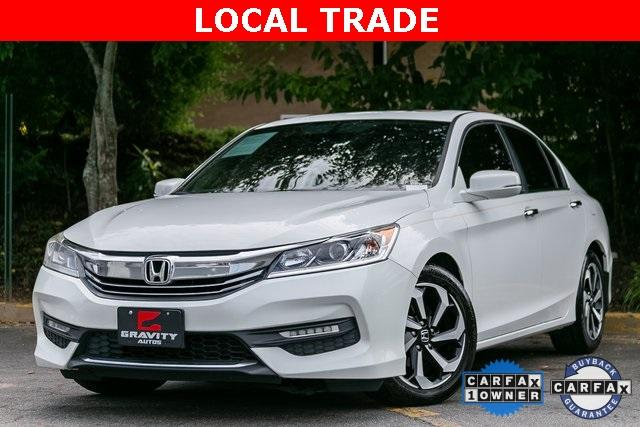 Used 2017 Honda Accord EX-L for sale Sold at Gravity Autos Atlanta in Chamblee GA 30341 1