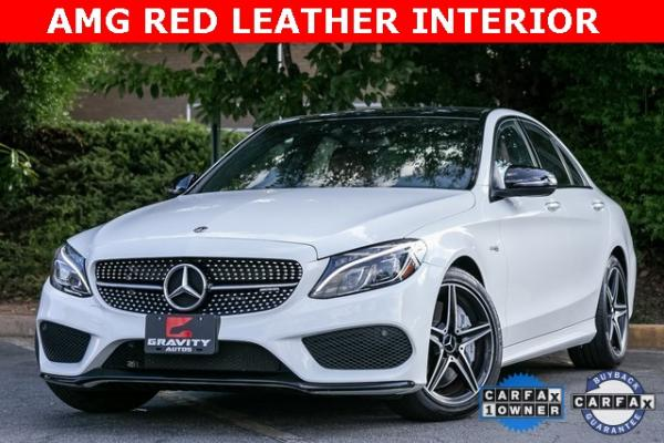 Used Used 2018 Mercedes-Benz C-Class C 43 AMG for sale $44,995 at Gravity Autos Atlanta in Chamblee GA