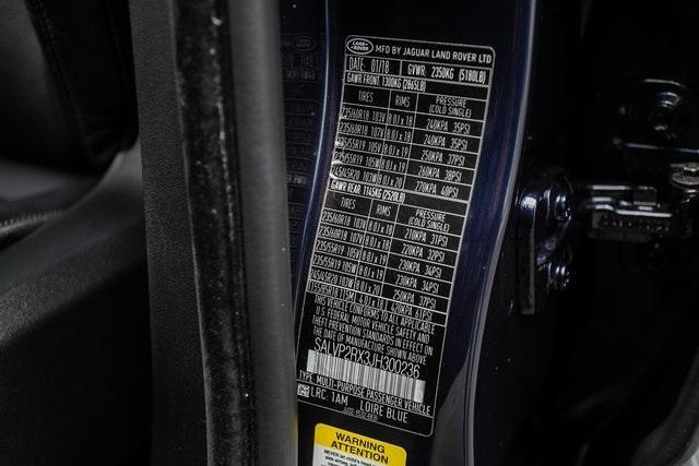 Used 2018 Land Rover Range Rover Evoque SE Premium for sale $35,928 at Gravity Autos Atlanta in Chamblee GA 30341 28