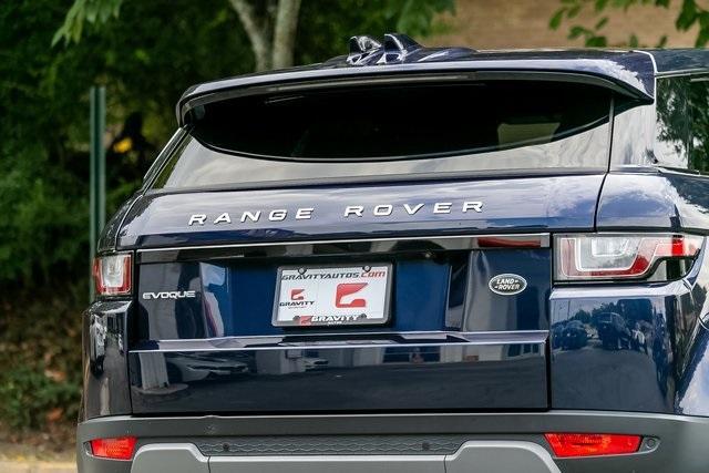 Used 2018 Land Rover Range Rover Evoque SE Premium for sale $35,928 at Gravity Autos Atlanta in Chamblee GA 30341 41