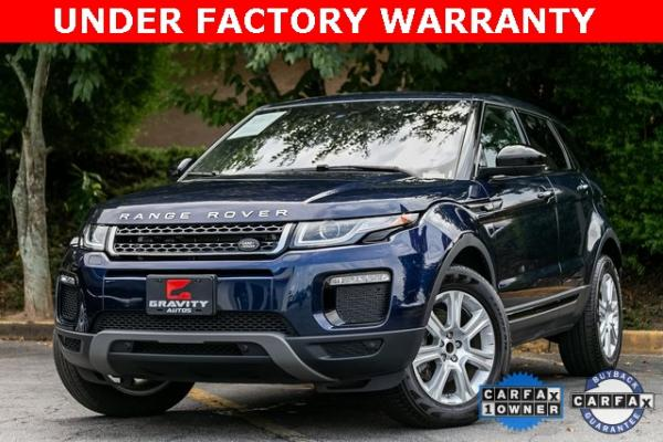 Used Used 2018 Land Rover Range Rover Evoque SE Premium for sale $35,928 at Gravity Autos Atlanta in Chamblee GA