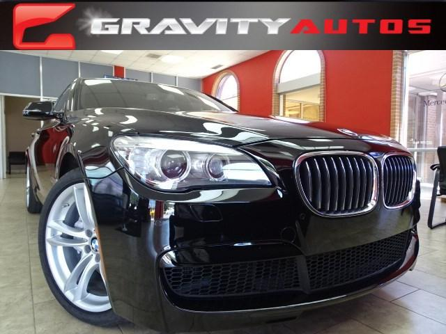 Used 2014 BMW 7 Series 740i for sale Sold at Gravity Autos in Roswell GA 30076 1