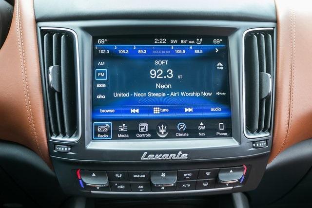 Used 2017 Maserati Levante S for sale $48,485 at Gravity Autos Atlanta in Chamblee GA 30341 21