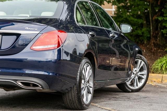 Used 2018 Mercedes-Benz C-Class C 300 for sale $29,795 at Gravity Autos Atlanta in Chamblee GA 30341 43