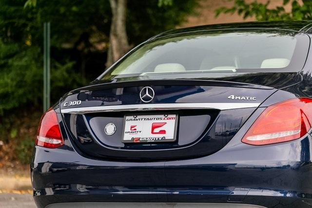 Used 2018 Mercedes-Benz C-Class C 300 for sale $29,795 at Gravity Autos Atlanta in Chamblee GA 30341 44
