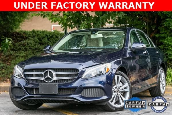 Used Used 2018 Mercedes-Benz C-Class C 300 for sale $29,795 at Gravity Autos Atlanta in Chamblee GA