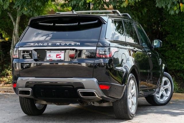 Used 2018 Land Rover Range Rover Sport HSE for sale $61,995 at Gravity Autos Atlanta in Chamblee GA 30341 36