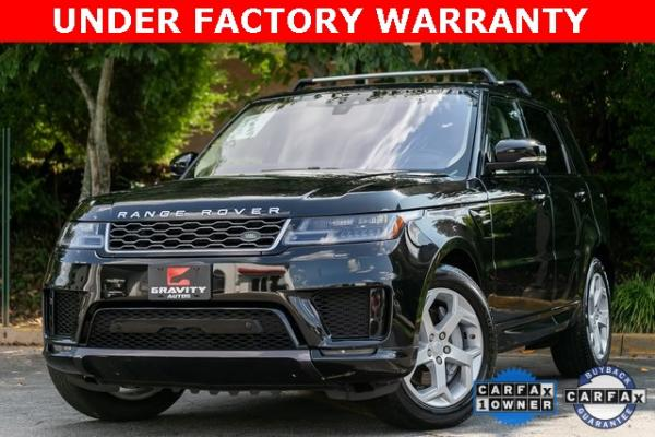 Used Used 2018 Land Rover Range Rover Sport HSE for sale $61,995 at Gravity Autos Atlanta in Chamblee GA