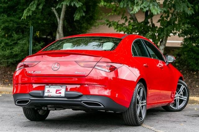 Used 2020 Mercedes-Benz CLA CLA 250 for sale $41,689 at Gravity Autos Atlanta in Chamblee GA 30341 45