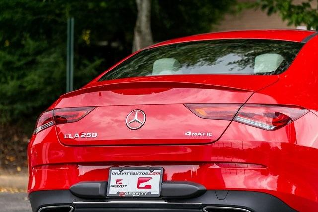 Used 2020 Mercedes-Benz CLA CLA 250 for sale $41,689 at Gravity Autos Atlanta in Chamblee GA 30341 47
