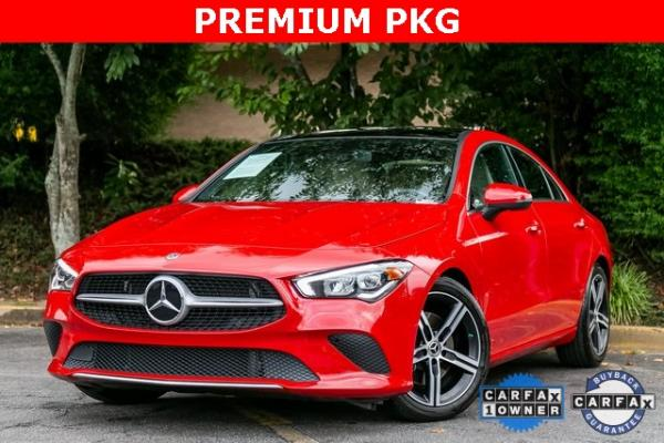 Used Used 2020 Mercedes-Benz CLA CLA 250 for sale $41,689 at Gravity Autos Atlanta in Chamblee GA