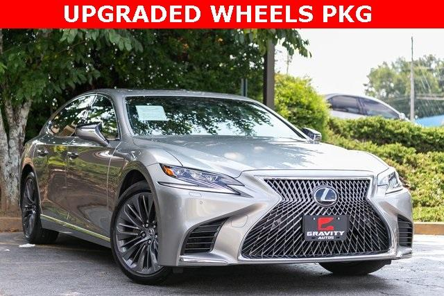 Used 2018 Lexus LS 500 Base for sale $56,995 at Gravity Autos Atlanta in Chamblee GA 30341 3