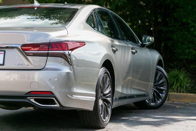 Used 2018 Lexus LS 500 Base for sale $56,995 at Gravity Autos Atlanta in Chamblee GA 30341 44