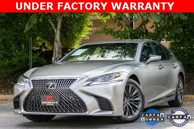 Used 2018 Lexus LS 500 Base for sale $56,995 at Gravity Autos Atlanta in Chamblee GA 30341 1