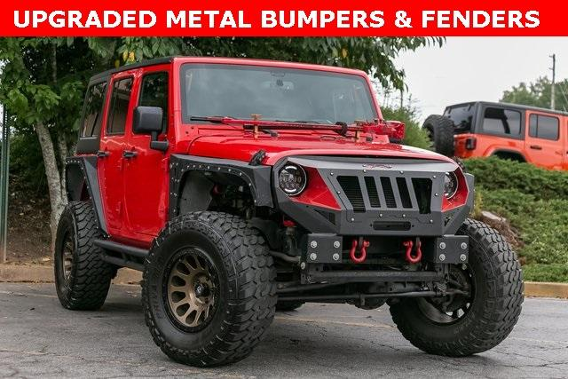 Used 2018 Jeep Wrangler JK Unlimited Sport for sale Sold at Gravity Autos Atlanta in Chamblee GA 30341 3