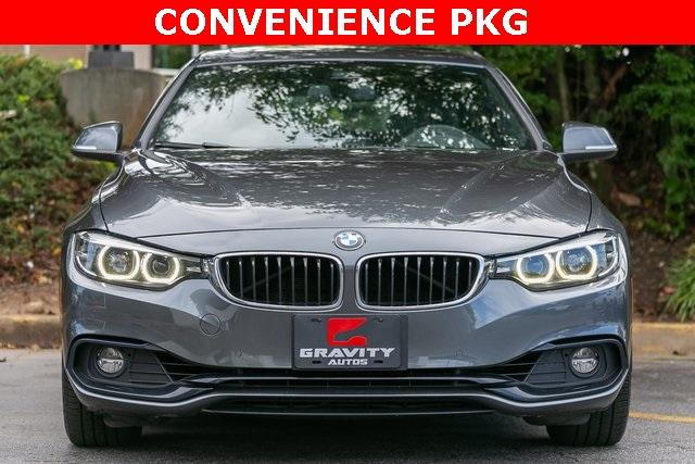 Used 2019 BMW 4 Series 430i Gran Coupe for sale $32,795 at Gravity Autos Atlanta in Chamblee GA 30341 2
