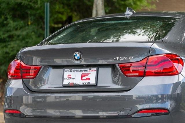 Used 2019 BMW 4 Series 430i Gran Coupe for sale $32,795 at Gravity Autos Atlanta in Chamblee GA 30341 44