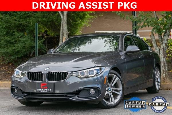 Used Used 2019 BMW 4 Series 430i Gran Coupe for sale $32,795 at Gravity Autos Atlanta in Chamblee GA