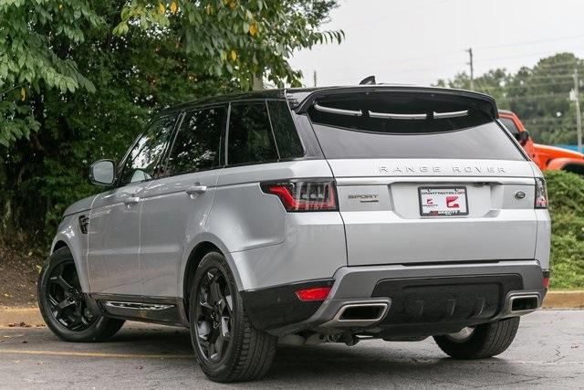 Used 2018 Land Rover Range Rover Sport HSE for sale $61,795 at Gravity Autos Atlanta in Chamblee GA 30341 34