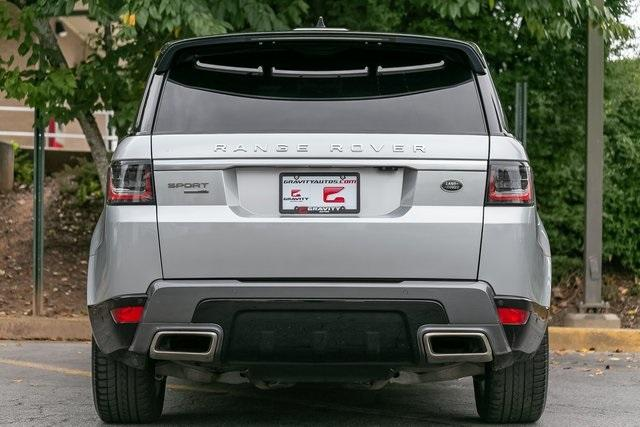 Used 2018 Land Rover Range Rover Sport HSE for sale $61,795 at Gravity Autos Atlanta in Chamblee GA 30341 35