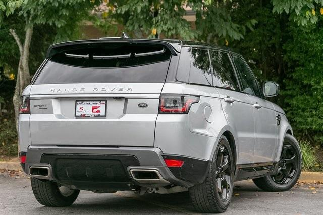 Used 2018 Land Rover Range Rover Sport HSE for sale $61,795 at Gravity Autos Atlanta in Chamblee GA 30341 36