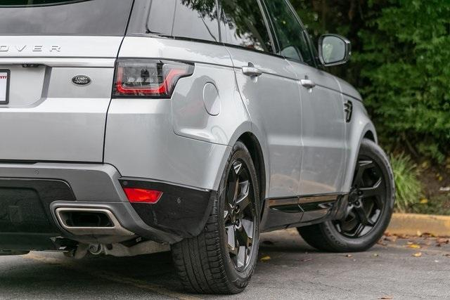 Used 2018 Land Rover Range Rover Sport HSE for sale $61,795 at Gravity Autos Atlanta in Chamblee GA 30341 38