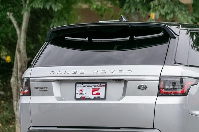 Used 2018 Land Rover Range Rover Sport HSE for sale $61,795 at Gravity Autos Atlanta in Chamblee GA 30341 39