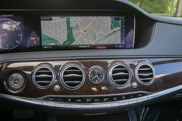 Used 2018 Mercedes-Benz S-Class S 560 for sale $67,699 at Gravity Autos Atlanta in Chamblee GA 30341 23