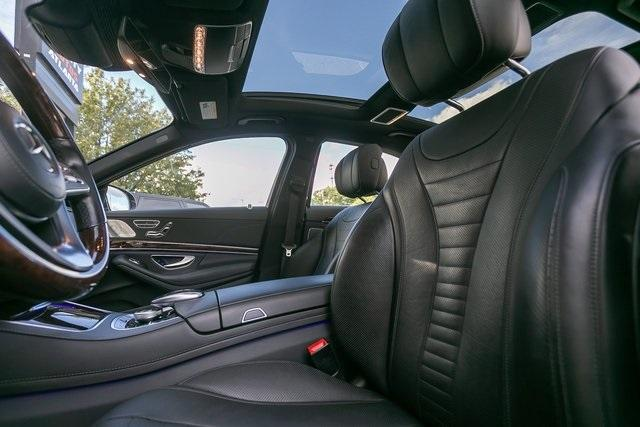 Used 2018 Mercedes-Benz S-Class S 560 for sale $67,699 at Gravity Autos Atlanta in Chamblee GA 30341 35