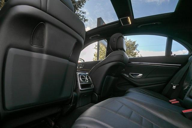 Used 2018 Mercedes-Benz S-Class S 560 for sale $67,699 at Gravity Autos Atlanta in Chamblee GA 30341 37