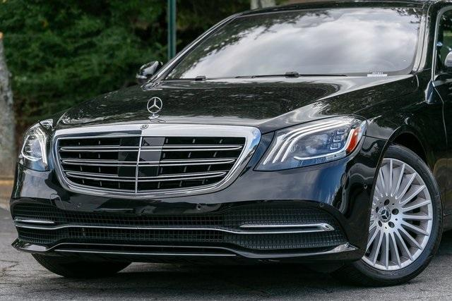 Used 2018 Mercedes-Benz S-Class S 560 for sale $67,699 at Gravity Autos Atlanta in Chamblee GA 30341 46
