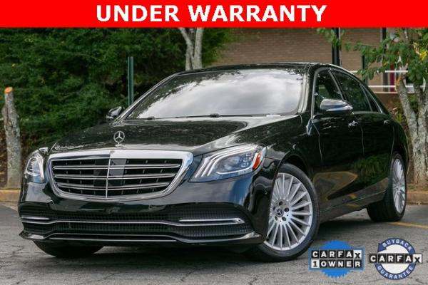 Used Used 2018 Mercedes-Benz S-Class S 560 for sale $67,699 at Gravity Autos Atlanta in Chamblee GA