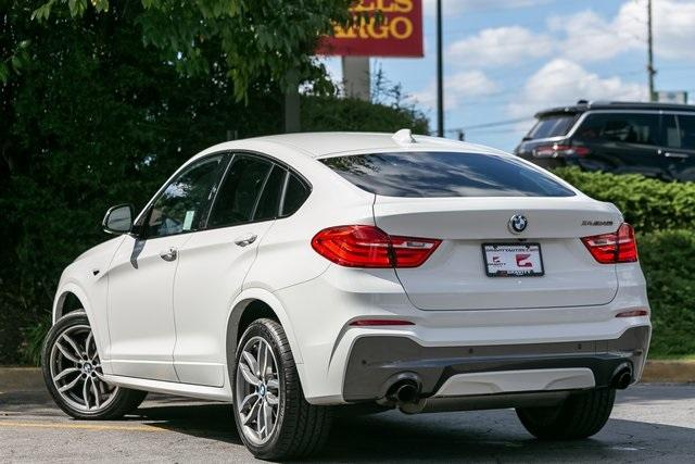 Used 2018 BMW X4 M40i for sale $42,995 at Gravity Autos Atlanta in Chamblee GA 30341 40