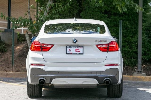 Used 2018 BMW X4 M40i for sale $42,995 at Gravity Autos Atlanta in Chamblee GA 30341 41