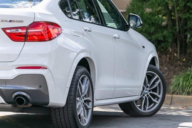 Used 2018 BMW X4 M40i for sale $42,995 at Gravity Autos Atlanta in Chamblee GA 30341 44