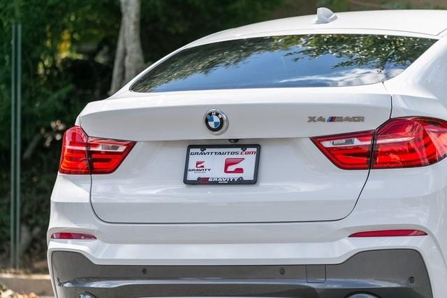 Used 2018 BMW X4 M40i for sale $42,995 at Gravity Autos Atlanta in Chamblee GA 30341 45