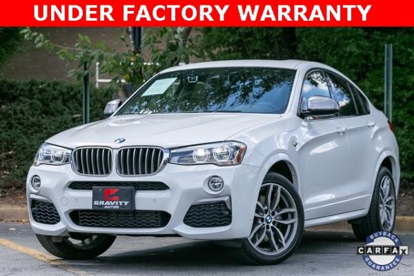 Used Used 2018 BMW X4 M40i for sale $42,995 at Gravity Autos Atlanta in Chamblee GA