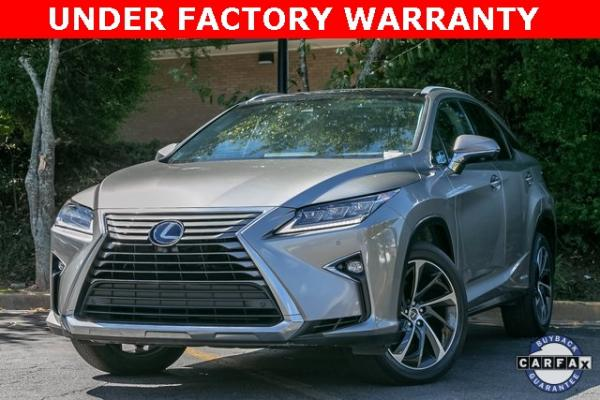 Used Used 2018 Lexus RX 450h for sale $46,695 at Gravity Autos Atlanta in Chamblee GA