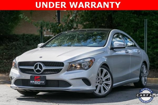 Used Used 2018 Mercedes-Benz CLA CLA 250 for sale $30,595 at Gravity Autos Atlanta in Chamblee GA