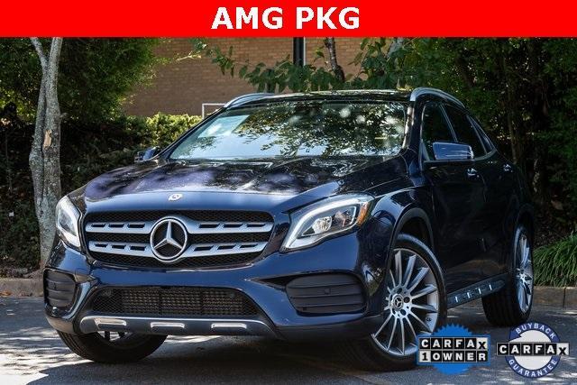 Used 2018 Mercedes-Benz GLA GLA 250 for sale $33,595 at Gravity Autos Atlanta in Chamblee GA 30341 1