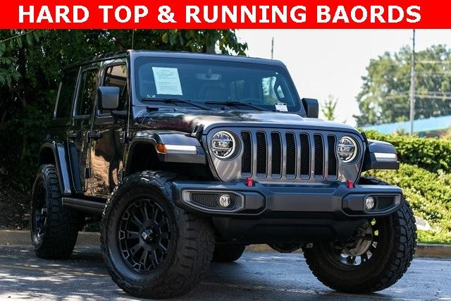 Used 2018 Jeep Wrangler Unlimited Rubicon for sale Sold at Gravity Autos Atlanta in Chamblee GA 30341 3