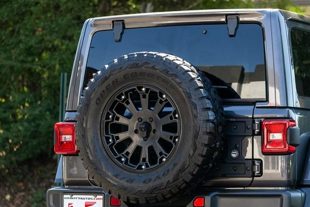 Used 2018 Jeep Wrangler Unlimited Rubicon for sale Sold at Gravity Autos Atlanta in Chamblee GA 30341 38